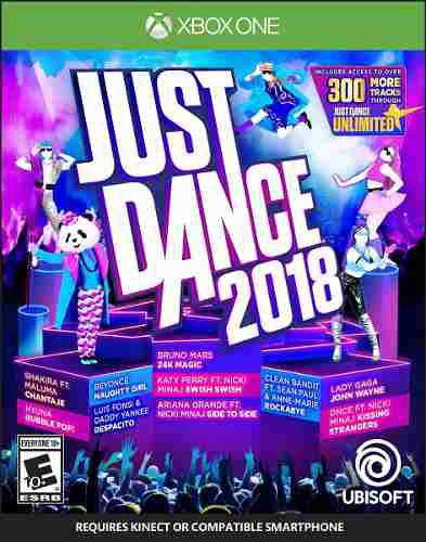 Just Dance 2018 Videojuego Para Xbox One