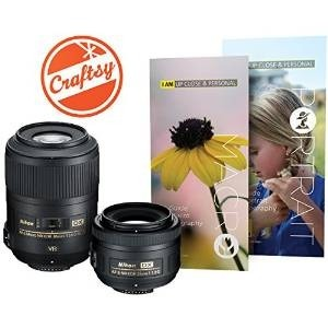 Kit Lente Macro Y Retrato Nikon Con Af-s Dx Nikkor 35mm F /