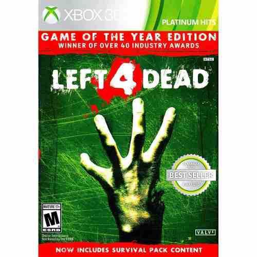 Left 4 Dead Edicion Juego Del Año Xbox 360/one En D3 Gamers