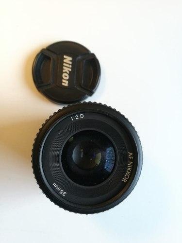 Lente Af Nikkor 35 Mm F/2d Nikon