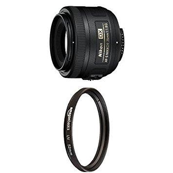 Lente Nikon Af-s Nikkor 35mm F/1.8g Con Filtro Uv 52mm