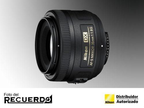 Lente Para Cámara Nikon Af-s Dx Nikkor 35mm F/1.8g