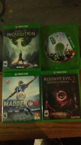 Lote De Juegos Para Xbox One. Numero 1