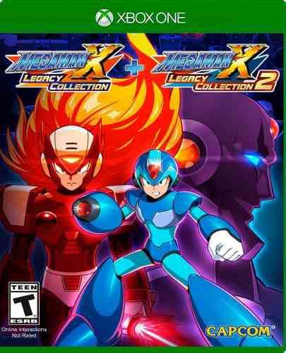 Mega Man X Legacy Collection 1 Y 2 Xbox One Nuevo