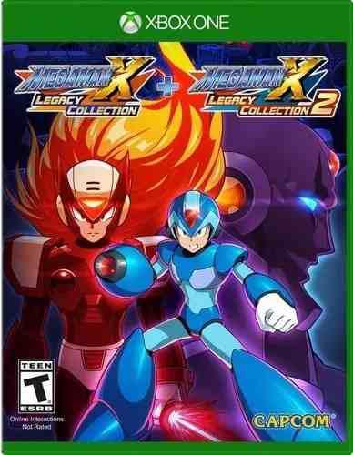 Mega Man X Legacy Collection 1+2 Para Xbox One En Wholegames