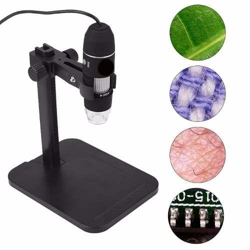 Microscopio Digital Usb x Zoom Óptico Cámara 8 Led Xp