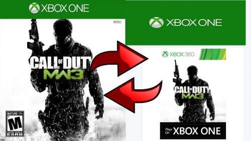 Modern Warfare 3 Xbox One Leer!! Bien!!