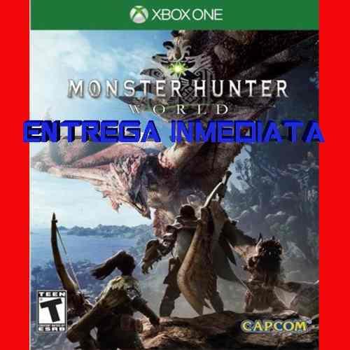 Monster Hunter World Xbox One Digital Offline No Código