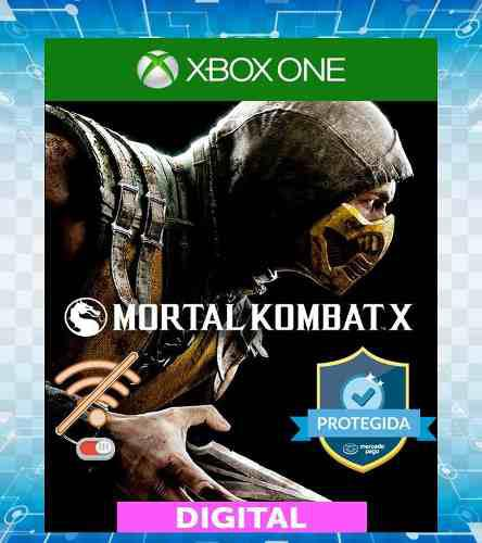 Mortal Kombat X Off-line Para Xbox One