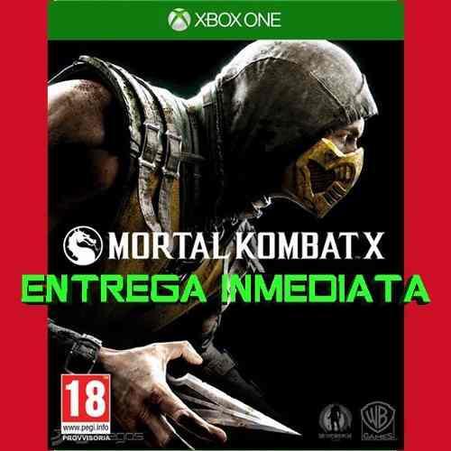 Mortal Kombat X Xbox One Digital Offline No Código Licencia