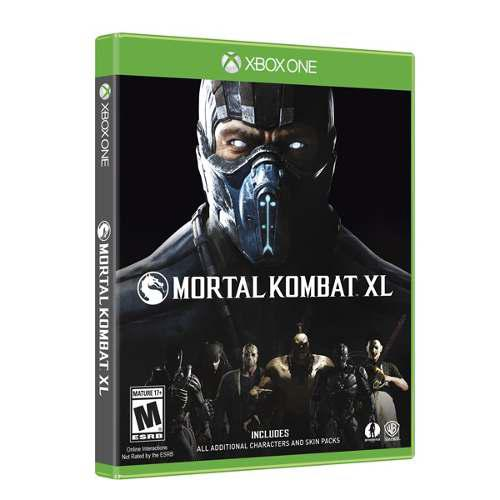Mortal Kombat Xl Para Xbox One En Whole Games !!!