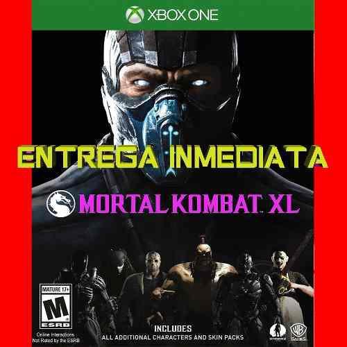 Mortal Kombat Xl X L Xbox One Digital Offline No Código