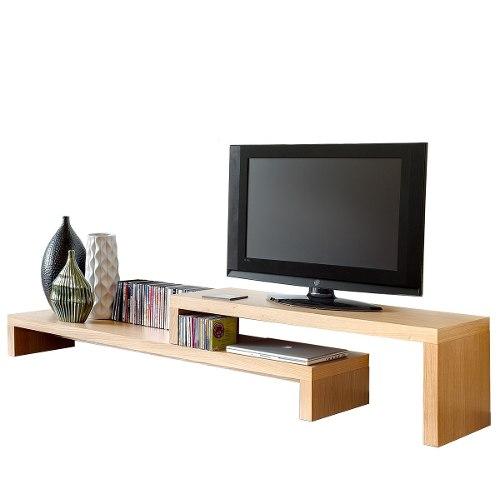 Mueble Television Centro Entretenimiento Tv - Madera Viva