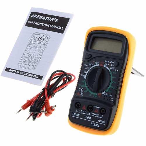 Multimetro Digital Profesional Xl830l