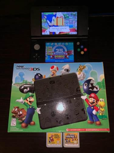 New Nintendo 3ds Edicion Limitada Super Mario Bros