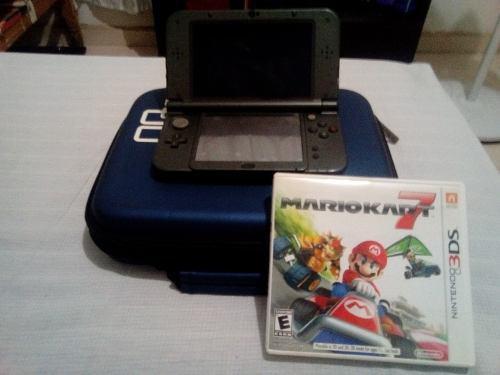New Nintendo 3ds Xl + 25 Juegos + Estuche 1 Juego Físico