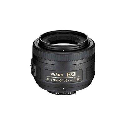 Nikon Af-s Dx Nikkor 35mm Lente F / 1.8g Con El Enfoque Auto