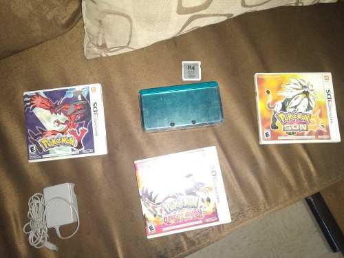 Nintendo 3ds, Pokemon Omega, Y, Sun Y R4