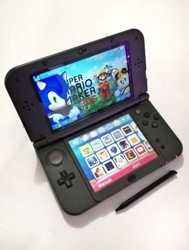 Nintendo 3ds Xl + 11 Juegos Digitales, 1 En Cartucho + Funda