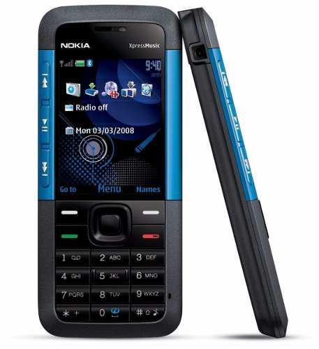 Nokia 5310 Negro Con Azul Nuevo Original Libre