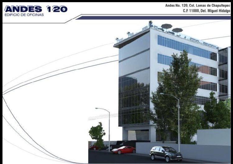 Oficinas en Renta Andes, Col. Lomas de Chapultepec /