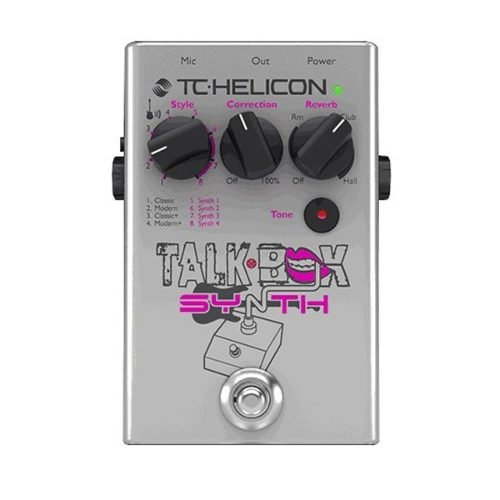 Pedal De Efectos Vocal, Tc Helicon Talkbox Synth