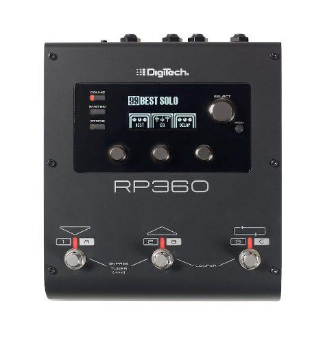 Pedal Procesador De Efectos Digitech Looper Usb Rp360