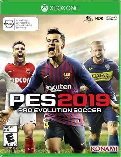 Pro Evolution Soccer Pes 2019 Para Xbox One En