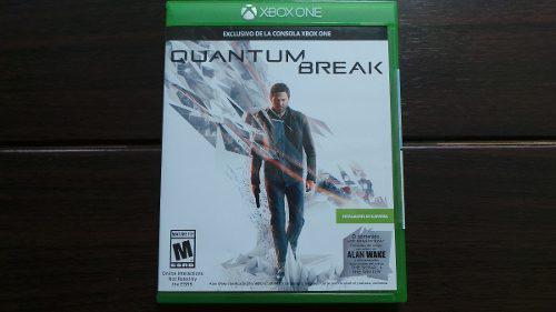 Quantum Break Xbox One Nuevo Sellado