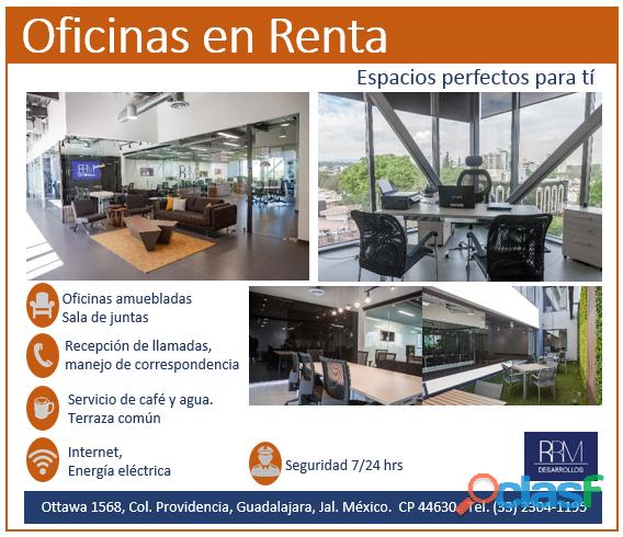 RENTA DE OFICINAS EJECUTIVAS
