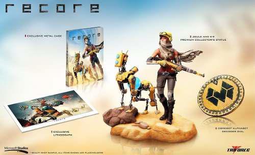 Recore Collectors Edition Para Xbox One Nuevo Y Sellado