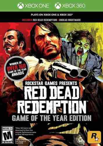 Red Dead Redemption Goty Para Xbox 360 Y One En Game Star