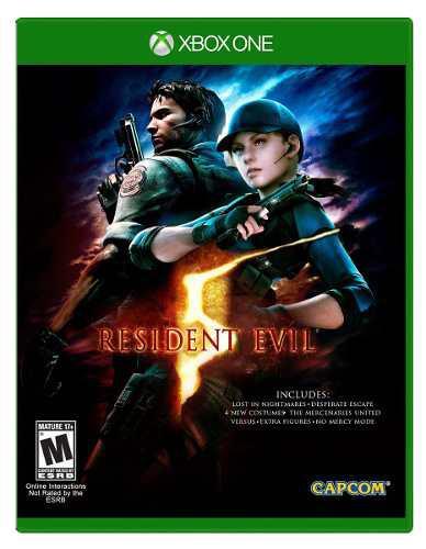 Resident Evil 5 Hd Para Xbox One En Wholegames !!!