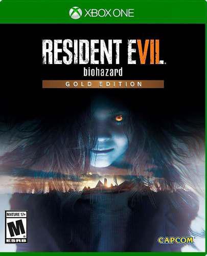 Resident Evil Biohazard Gold Edition Xbox One Nuevo