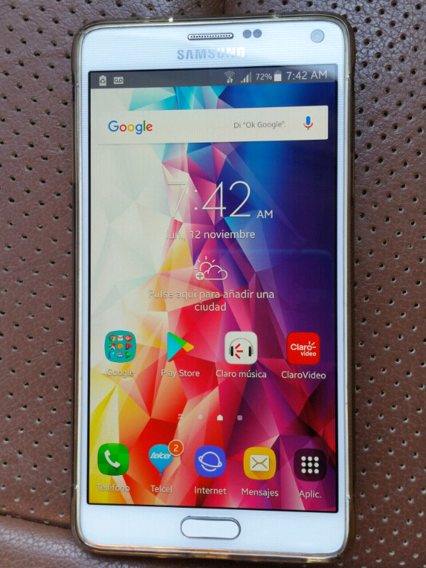 Samsung galaxy note 4 libre