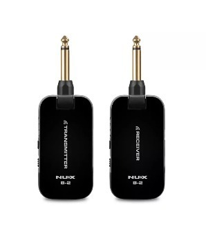 Sistema Inalambrico Nux B-2 2.4 Ghz Wireless Para Guitarra