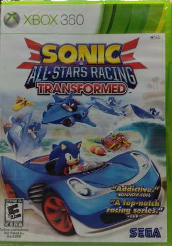 Sonic All Stars Racing Transformed Xbox 360 / One