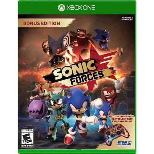 Sonic Forces Para Xbox One En Wholegames !!