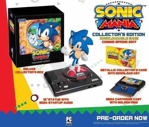 Sonic Mania Collectors Edition Con Figura Sonic Xbox One