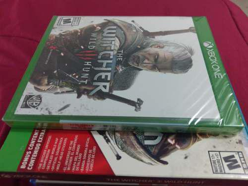 The Witcher 3 Wild Hunt Xbox One Edicion Juego Del Año