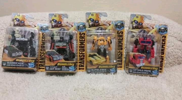 Transformers Set con 4 piezas