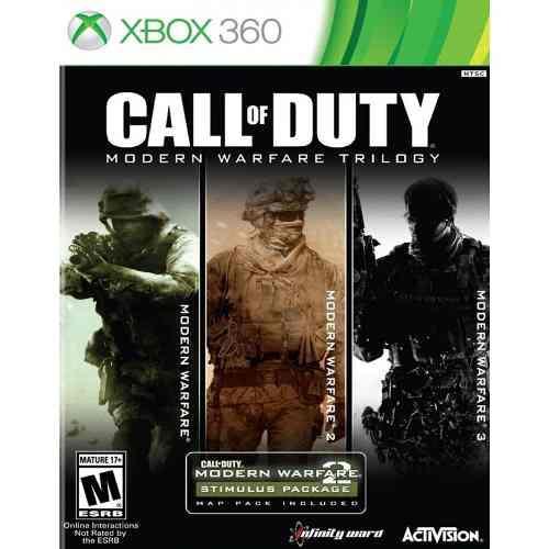 Trilogia Callofduty Modern Warfare Xbox 360 / Xbox One