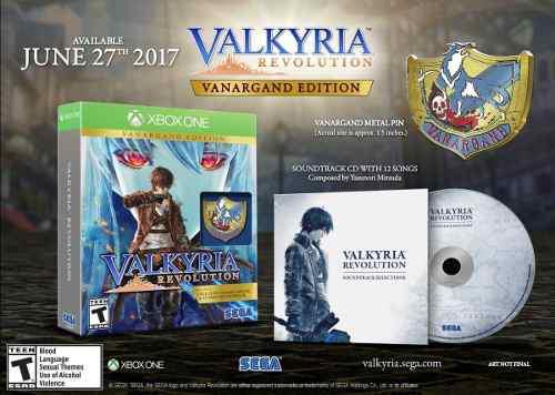 Valkyria Revolution Vanargand Edition Xbox One Nuevo Sellad