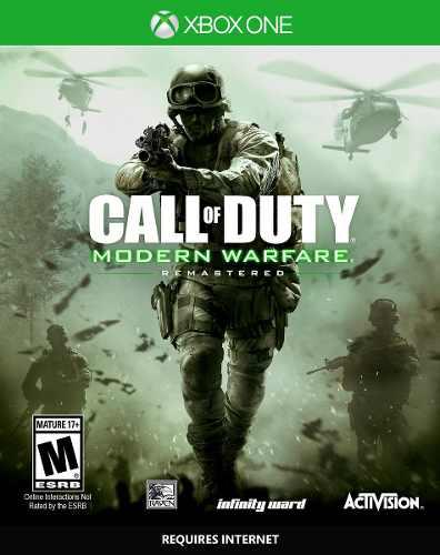 Videojuego Call Of Duty Modern Warfare Remastered Xbox One