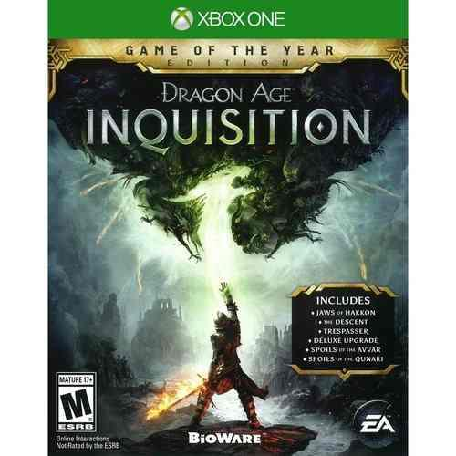 Videojuego Dragon Age Inquisition Edicion Juego Del Año