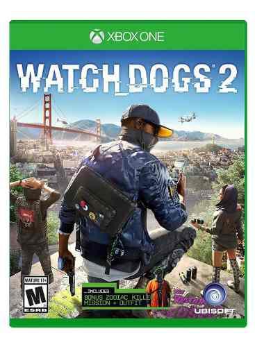 Watch Dogs 2 Para Xbox One En Wholegames !!!