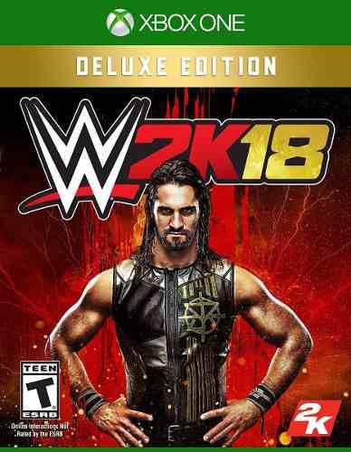 Wwe 2k18 Deluxe Edition Xbox One Nuevo