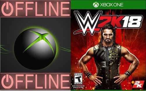 Wwe 2k18 Xbox One Off-line
