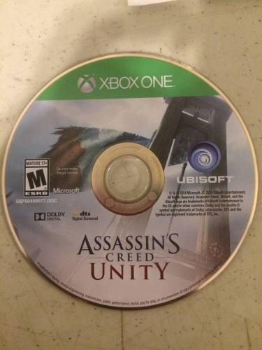Xbox One Assassins Creed Unity Usado Blakhelmet E