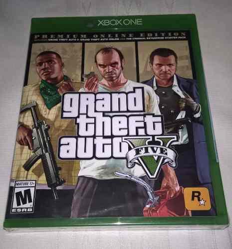 Xbox One Grand Theft Auto V Premium Online Edition - Fisico